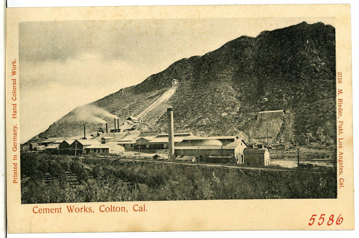 Colton Cement Plant : Slover mountain wikipedia