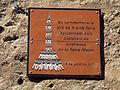 09 Placa commemorativa castellera a la plaça de l'Església (Esparreguera).JPG