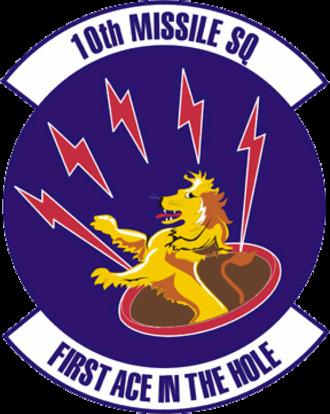 10th Missile Squadron - Image: 10th Missile Squadron