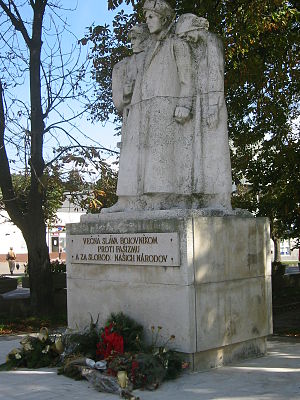 Vranov nad Topľou - Anti-fascist memorial