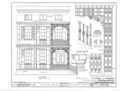 154 Saint Louis Street (House, Iron Gate), Mobile, Mobile County, AL HABS ALA,49-MOBI,11- (sheet 1 of 1).png