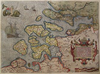 Zeeland - The County of Zeeland in 1580.