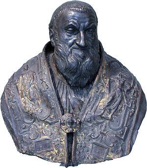 Taddeo Landini - Bust of Pope Sixtus V, 1585–1590
