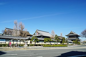 Buddhist temples in Japan - Higashi Hongan-ji in Kyoto