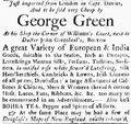 1768 GeorgeGreen BostonEveningPost May2.png