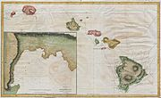1785 Cook - Bligh Map of Hawaii - Geographicus - Hawaii-cook-1785