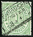 1868 NDPB 1kr Mi7 Sachsenhausen File0163.jpg