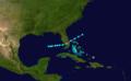 1878 Atlantic tropical storm 1 track.png