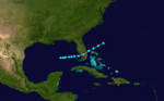1878 Atlantic tropical storm 1 track.png