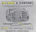 1886 Eli Lilly and Company newspaper advertisement.jpg