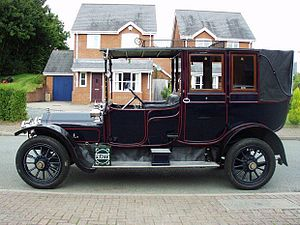 Tax horsepower - 1912 Wolseley 16-20 see also 1913 Vauxhall 30-98 and many others