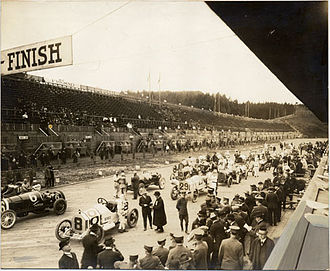 United States Grand Prix - The grid for the 1915 Grand Prize in San Francisco