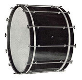 1919 Ludwig New Inspiration Model bass drum.jpg