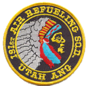 191st Air Refueling Squadron - Legacy Emblem