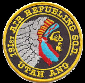 191st Air Refueling Squadron - 191st Air Refueling Squadron – Legacy Emblem