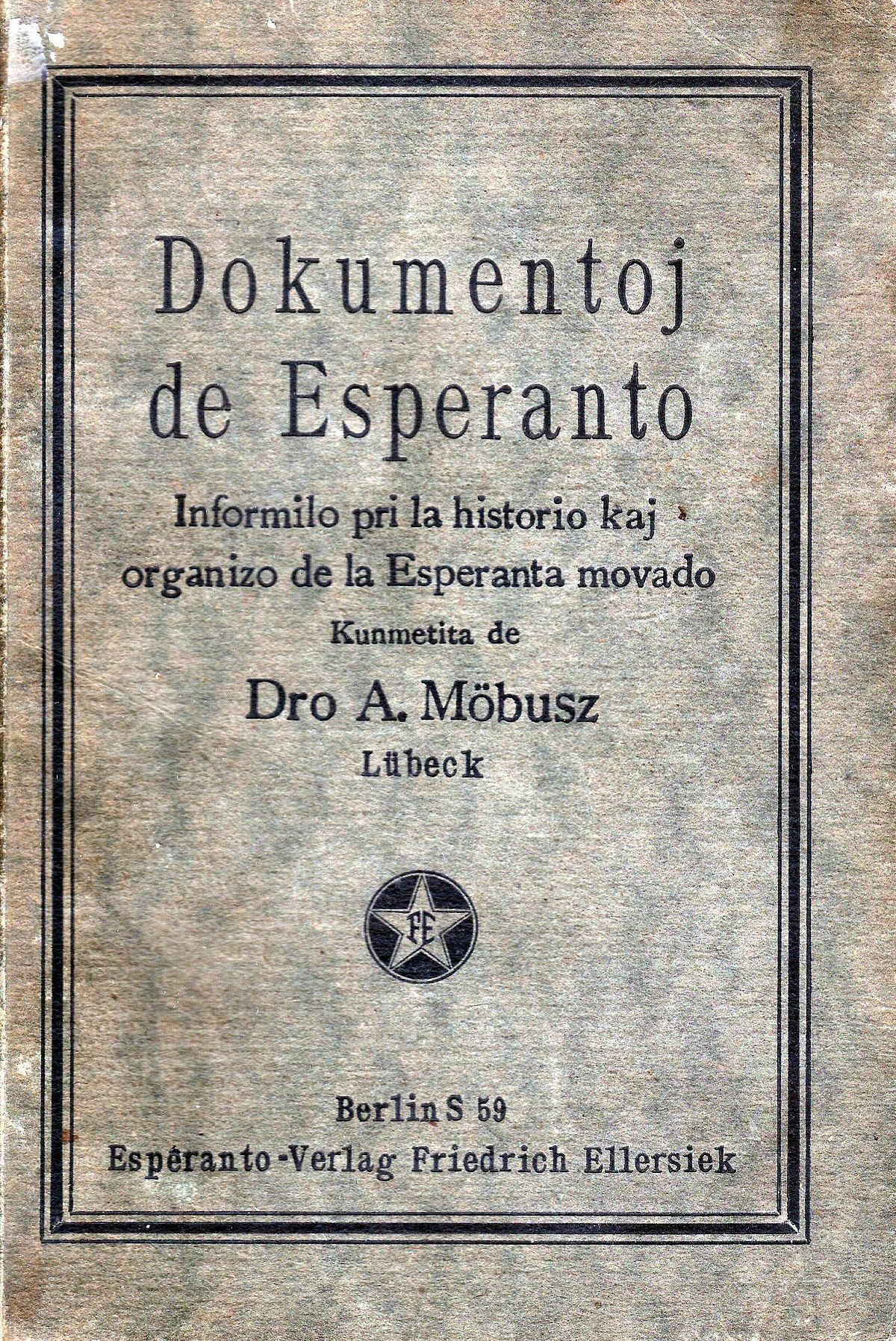 dokumentoj de esperanto vikipedio