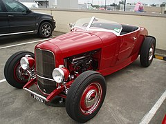 1928 Ford Model A roadster hot rod (5407080898).jpg