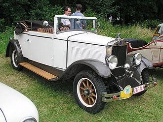 FN Herstal - 1931 FN cabriolet