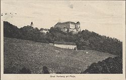 1935 postcard of Vurberk Castle.jpg