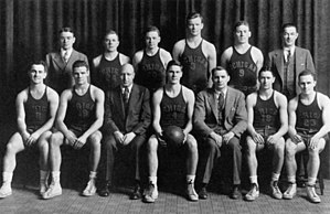 1937–38 Michigan Wolverines men's basketball team - Image: 1937–38 Michigan Wolverines men's basketball team