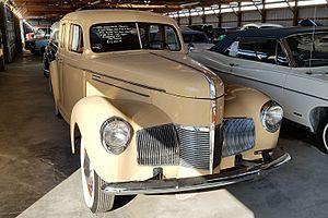 Studebaker Champion - 1940 4-door Sedan