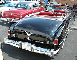 1951 Chrysler conv black va rear