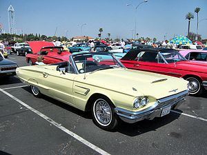 Ford Thunderbird (fourth generation) - 1965 convertible