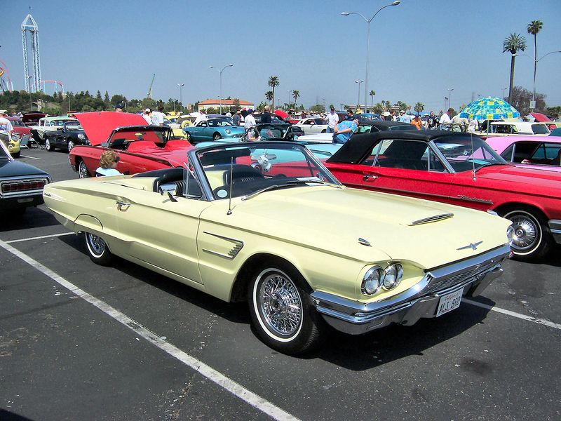 File:1965 Ford Thunderbird Convertible.jpg
