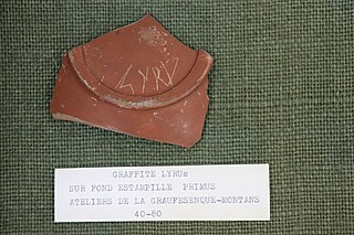 Sigillée - LYRUS (Musée de Die)