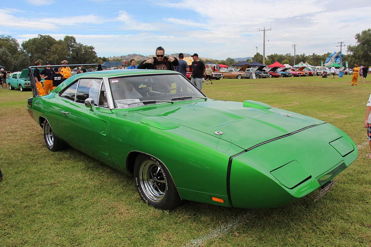 Una Dodge Charger Daytona del 1969