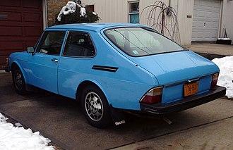 Combi coupé - Image: 1978 Saab 99 3 door, rear left
