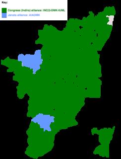 1980 Indian general election in Tamil Nadu