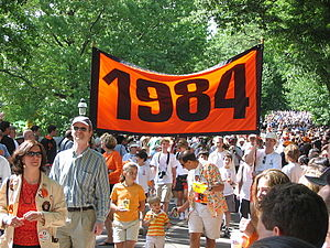 Princeton Reunions - The Class of 1984 at its 20th reunion in 2004.