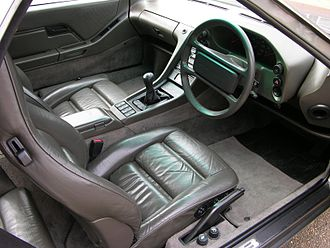 Porsche 928 - Porsche 928 S4 interior