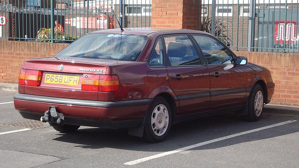 1996 Volkswagen Passat 1.9 TDI CL (13910663181)