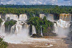 View of Iguazu Falls