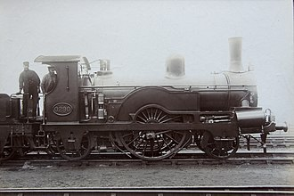 Locomotives of the Great Eastern Railway - Image: 2 2 2 GER 0290