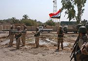 2-70 AR 2-14 IN Case Colors in Iraq 2005