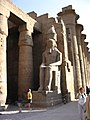 2005-04-10 (156) Statues of Ramses II in Luxor Temple.jpg