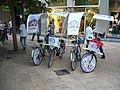 2007 09 21 Bicicletes publicitàries a València 01.jpg
