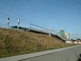 Oosterheem RandstadRail station - Image: 2008 Station Oosterheem (01)