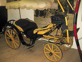Vis-à-vis (carriage) - Historical Vis-à-vis carriage