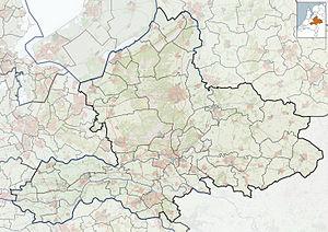 Beek, Montferland - Image: 2010 NL P05 Gelderland positiekaart gemgrenzen