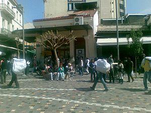 Immigration to Greece - Immigrants in Monastiraki in Athens