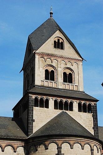 Rhenish helm - Rhenish helm on Maria Laach Abbey