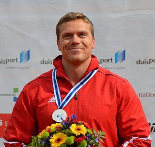 Mark de Jonge Canadian sprint canoeist