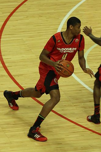 Isaiah Hicks - Hicks in the 2013 McDonald's All-American Boys Game
