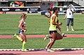 2013 IPC Athletics World Championships - 26072013 - Elena Pautova of Russia, Maritza Arango Buitrago and Jonathan Sanchez Gonzalez of Colombia during the Women's 1500m - T12 first semifinal.jpg