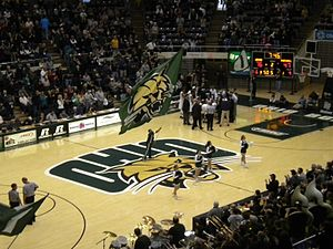 Ohio Bobcats - The 2013 Ohio versus Marshall men's basketball game at the Convocation Center in Athens, Ohio.