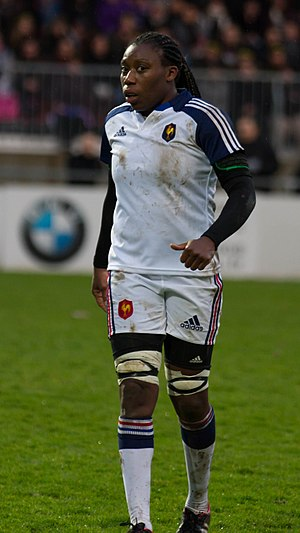 Koumiba Djossouvi - Image: 2014 Women's Six Nations Championship France Italy (35)